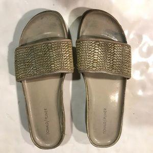 Donald j Pliner Raffia Fiji  Sandal Shoes 10